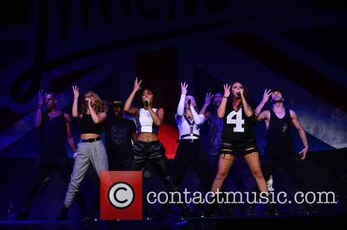 Jade Thirlwall, Leigh-anne Pinnock, Perrie Edwards and Jesy Nelson Of Little Mix 4