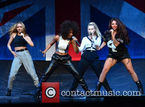 Jade Thirlwall, Leigh-anne Pinnock, Perrie Edwards and Jesy Nelson Of Little Mix 5