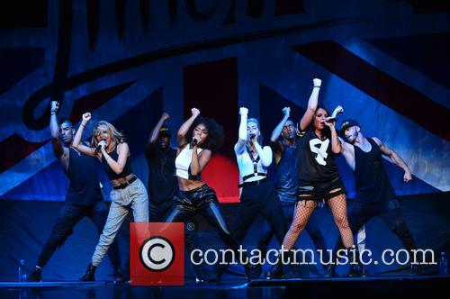 Jade Thirlwall, Leigh-anne Pinnock, Perrie Edwards and Jesy Nelson Of Little Mix 9