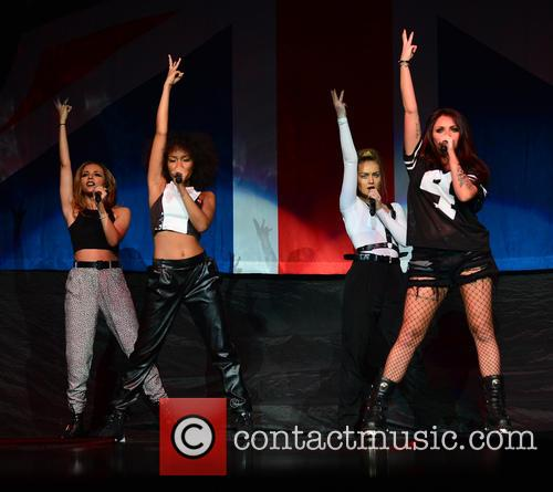 Jade Thirlwall, Leigh-anne Pinnock, Perrie Edwards and Jesy Nelson Of Little Mix 1