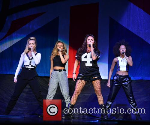 Perrie Edwards, Jade Thirlwall, Jesy Nelson and Leigh-anne Pinnock Of Little Mix 3
