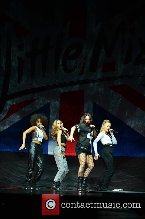Perrie Edwards, Jade Thirlwall, Leigh-anne Pinnock and Jesy Nelson Of Little Mix 2