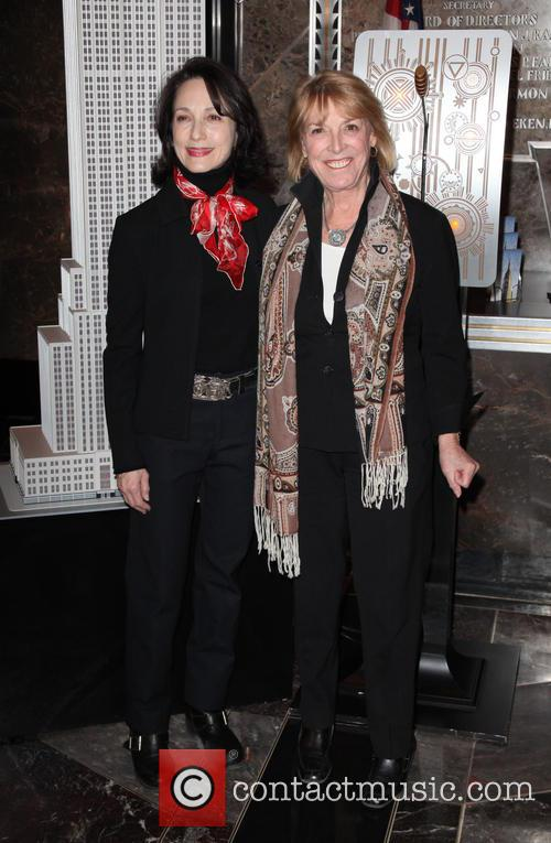 Bebe Neuwirth and Lynn Grefe 7