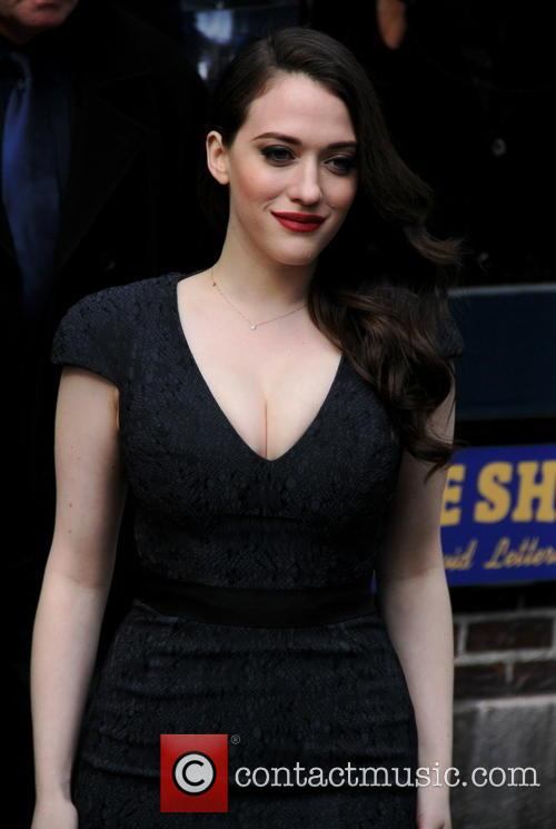 kat dennings late show with david letterman 4084822