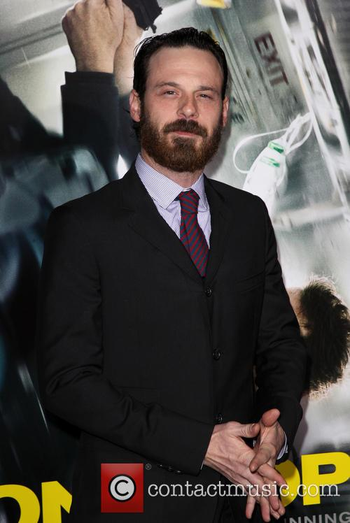 Scoot McNairy at 'Non-Stpo' premiere