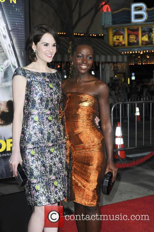 Michelle Dockery and Lupita Nyong'o 2