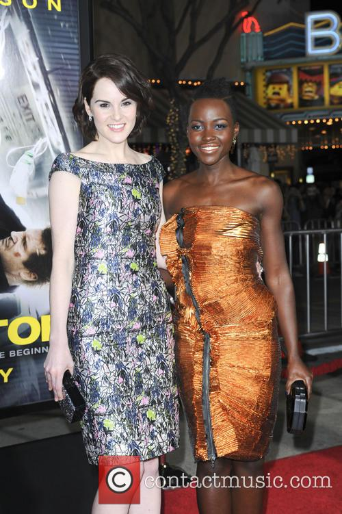 Michelle Dockery and Lupita Nyong'o 3