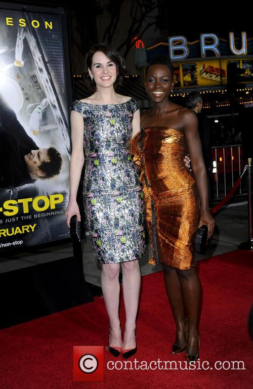 Michelle Dockery and Lupita Nyong'o 6