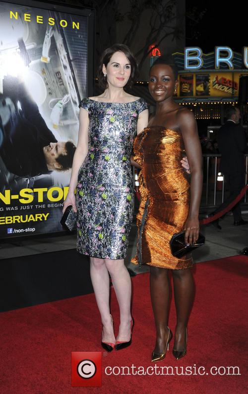 Michelle Dockery and Lupita Nyong'o 1