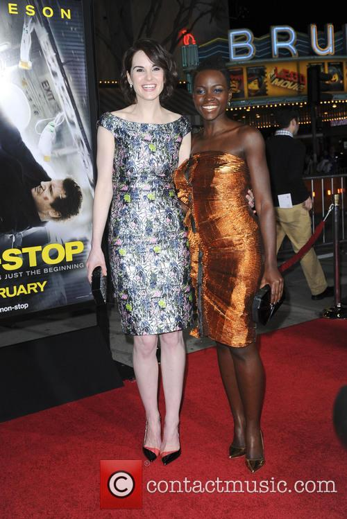 Michelle Dockery and Lupita Nyong'o 7