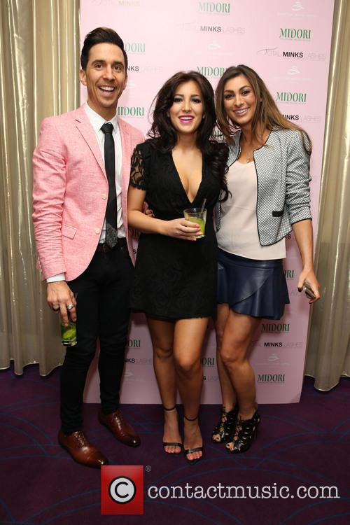 Russell Kane, Lindsey Cole and Luisa Zissman 9