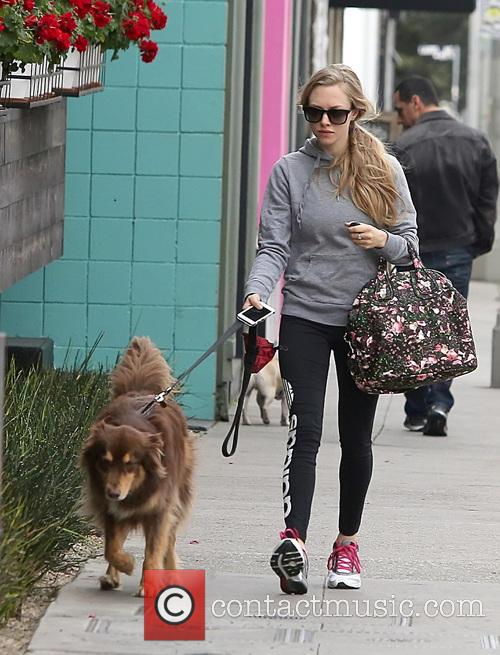Amanda Seyfried and Finn 4