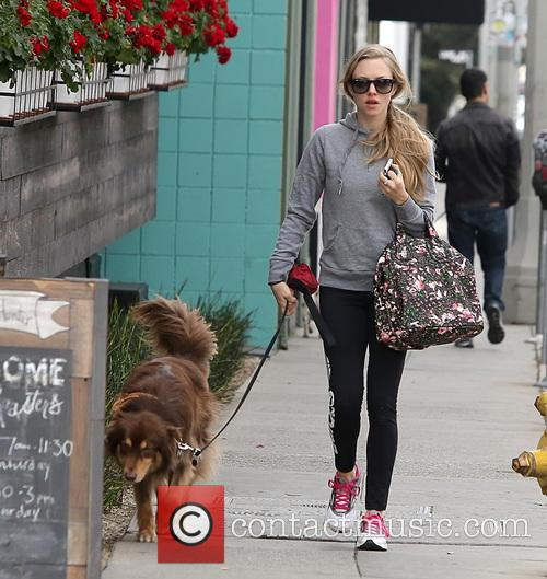 Amanda Seyfried and Finn 8