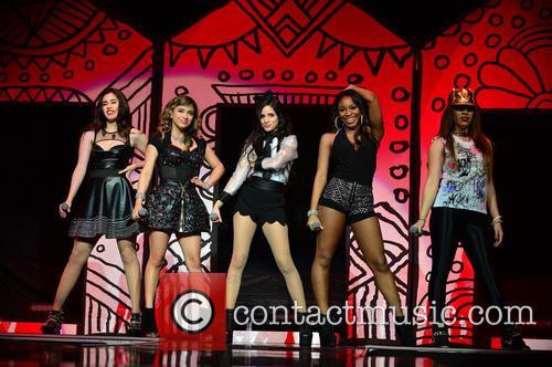 Dinah, Lauren Jauregui, Ally Brooke Hernandez, Camila Cabello, Normani Hamilton and Fifth Harmony 1