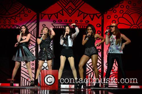 Dinah, Lauren Jauregui, Ally Brooke Hernandez, Camila Cabello, Normani Hamilton and Fifth Harmony 3