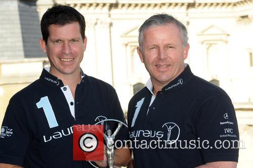 Tim Henman and Sean Fitzpatrick 4