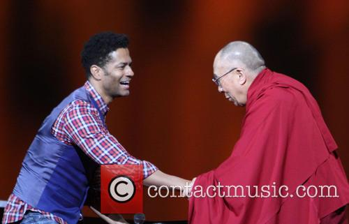 Eric Benet and His Holiness The 14th Dalai Lama 6