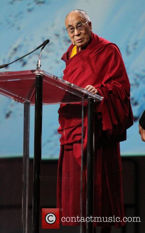 Dalai Lama, the California Science Center