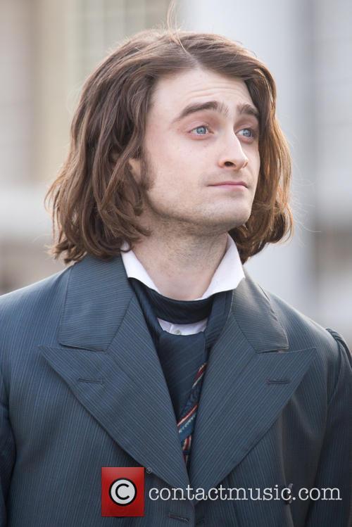 Daniel Radcliffe on 'Frankenstein' film set