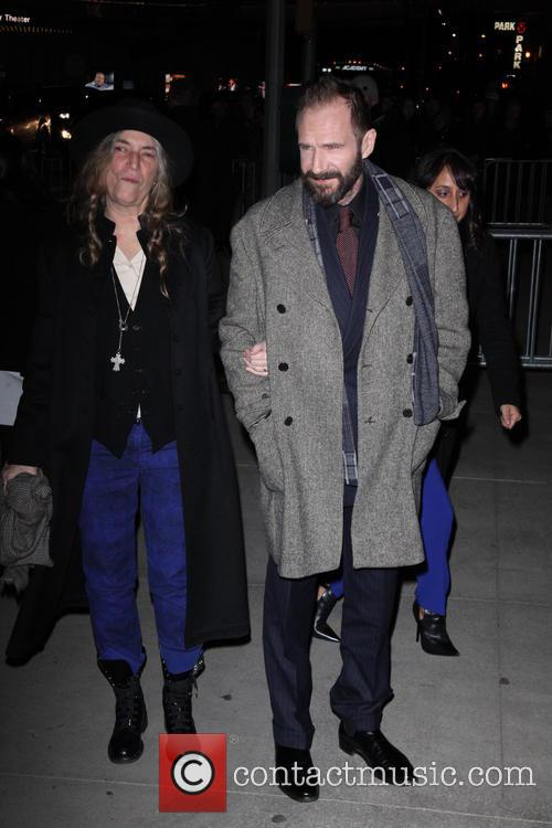 Patti Smith and Ralph Fiennes 1