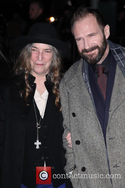 Patti Smith and Ralph Fiennes 2