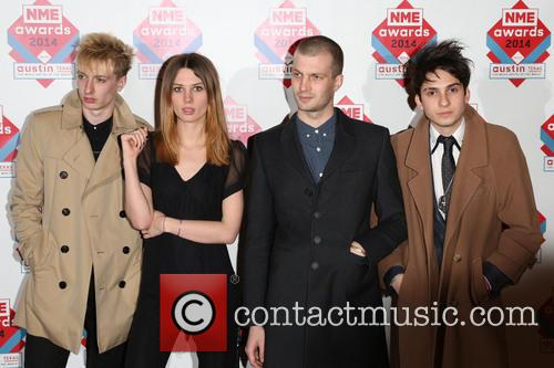 Wolf Alice, Ellie Rowsell, Joel Amey and Joff Oddie 1