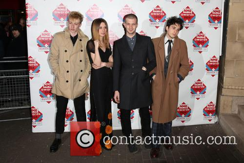 Wolf Alice, Ellie Rowsell, Joel Amey and Joff Oddie 2