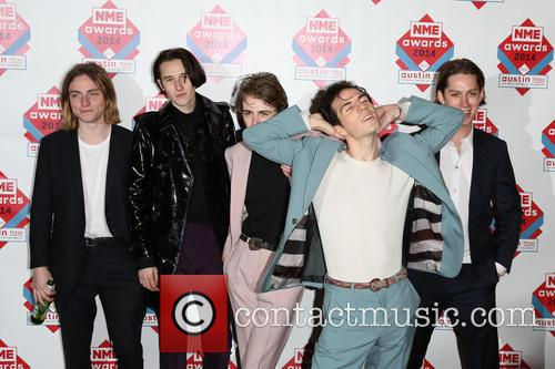 Swim Deep, Zachary Robinson, Cavan Mccarthy, Tom Higgins and Austin Williams 2