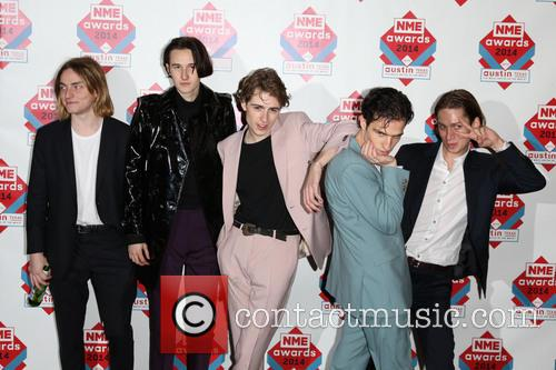 Swim Deep, Zachary Robinson, Cavan Mccarthy, Tom Higgins and Austin Williams 3