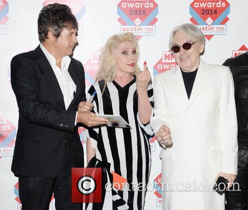 Blondie, Debbie Harry, Chris Stein and Clem Burke 4