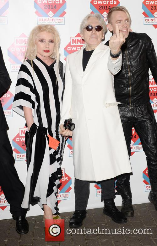 Blondie, Debbie Harry, Chris Stein, The NME Awards