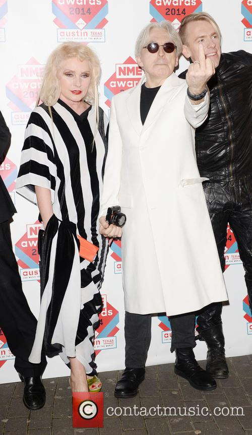 Blondie, Debbie Harry and Chris Stein 3