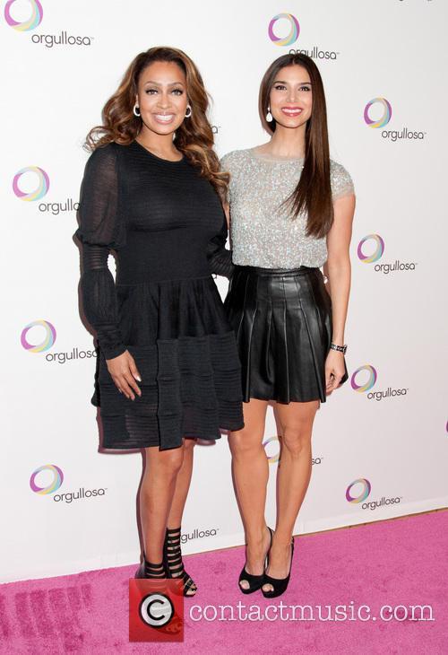 La La Anthony and Roselyn Sanchez 1