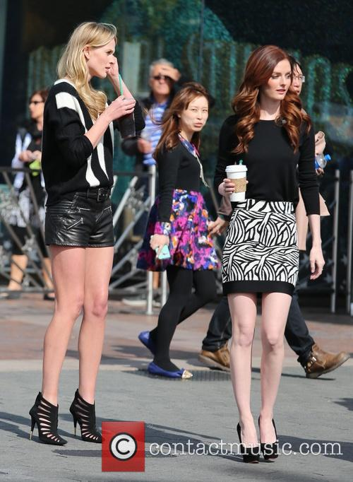 Anne Vyalitsyna and Lydia Hearst 10