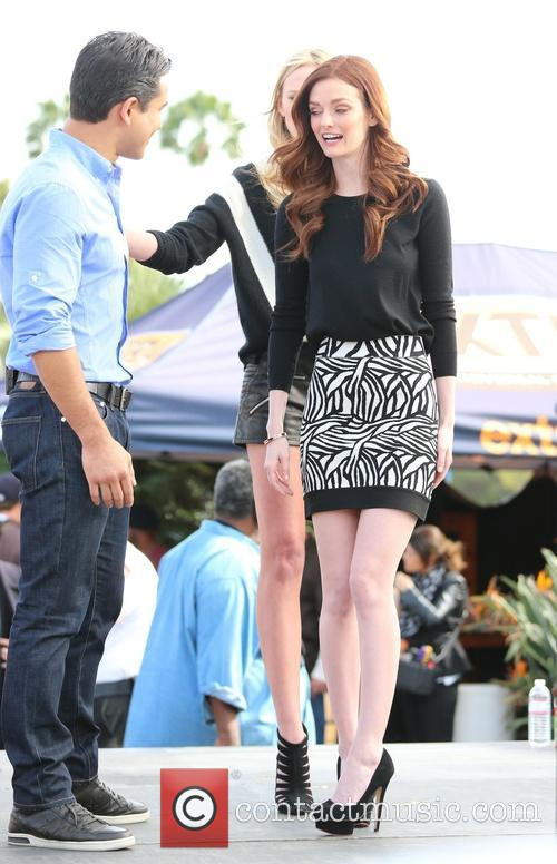 Lydia Hearst and Mario Lopez 6
