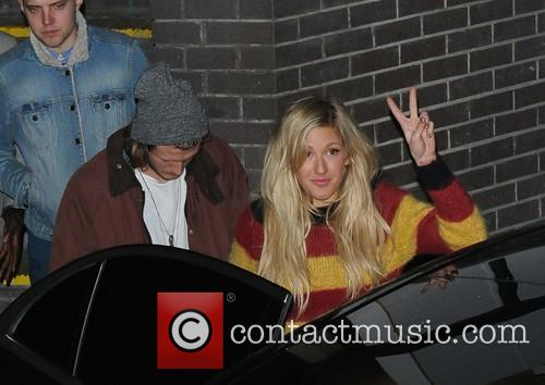 Ellie Goulding and Dougie Poynter 8