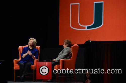 Hillary Rodham Clinton, Hillary Clinton and Donna E Shalala 4