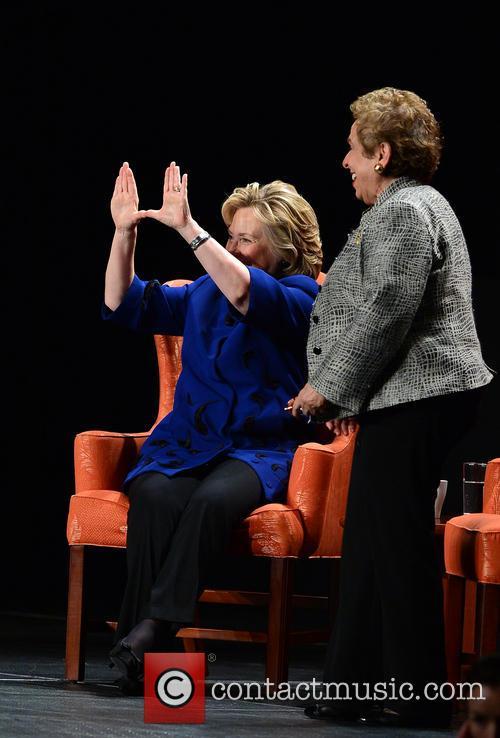 Hillary Rodham Clinton, Hillary Clinton and Donna E Shalala 11