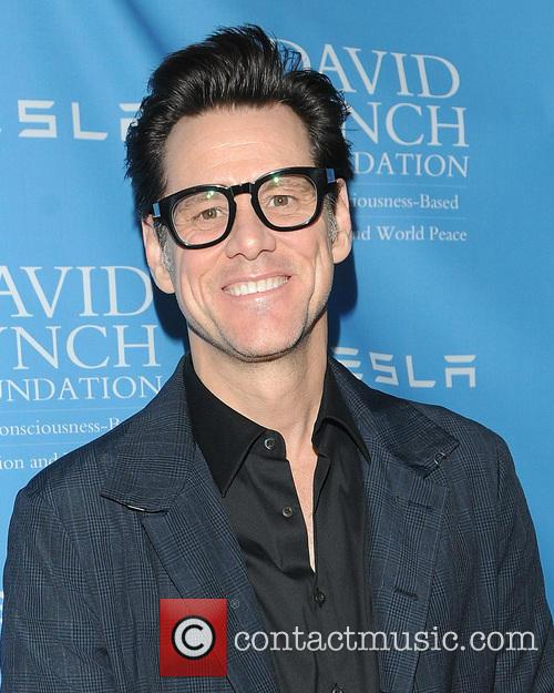 Jim Carrey at David Lynch Foundation's 2014 Lifetime of Harmony Awards