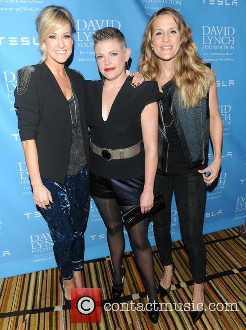 The Dixie Chicks, Natalie Maines, David Lynch and Rick Rubin 2