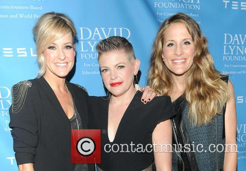 The Dixie Chicks, Natalie Maines, David Lynch and Rick Rubin 1
