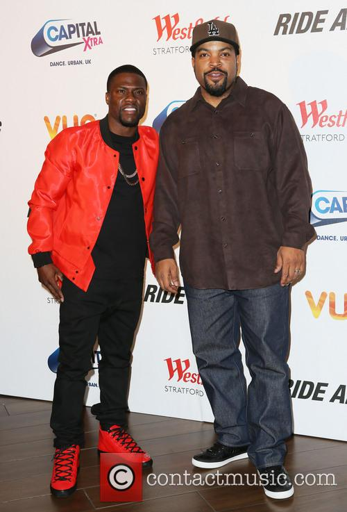 Kevin Hart and Ice Cube 2