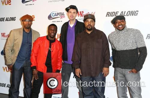 Tim Story, Kevin Hart, Tim Westwood, Ice Cube and Will Packer 2