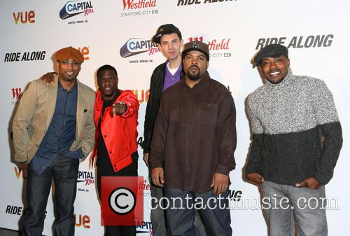 Tim Story, Kevin Hart, Tim Westwood, Ice Cube and Will Packer