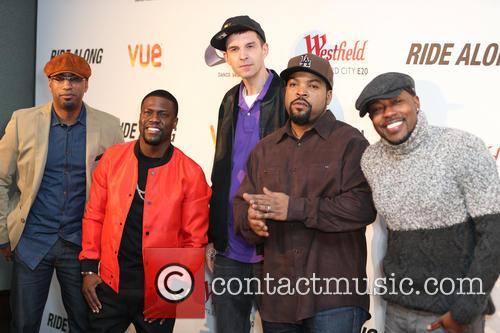 Tim Story, Kevin Hart, Tim Westwood, Ice Cube and Will Packer 3