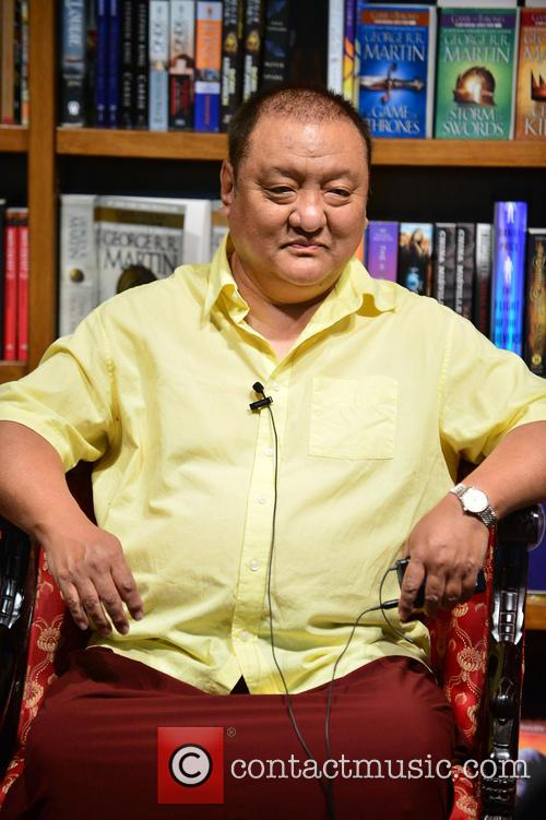 Shamar Rinpoche promotes his book