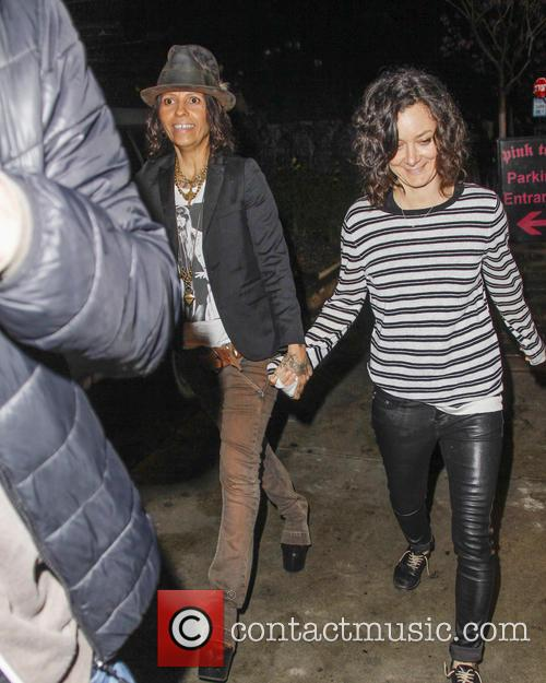 Sarah Gilbert and Linda Perry 1
