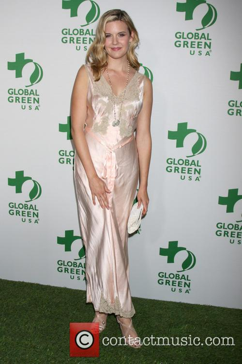 maggie grace global green usas pre oscar event 4087259