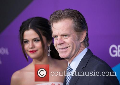 Selena Gomez and William H. Macy 6