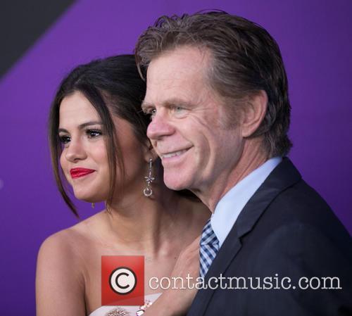 Selena Gomez and William H. Macy 8